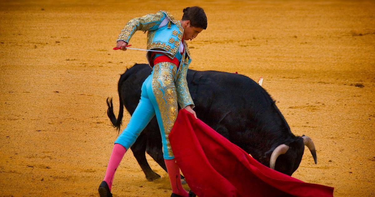 Tüzes bika vadul spanyolban, miközben az Európa étteremben ……