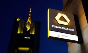 Commerzbank sign