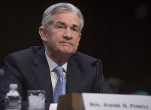 Jerome Powell, nominee to be chairman of the Federal Reserve Board of Governors, testifies during his confirmation hearing before the Senate Banking, Housing and Urban Affairs Committee on Capitol Hill in Washington, DC, on November 28, 2017. / AFP PHOTO / SAUL LOEB