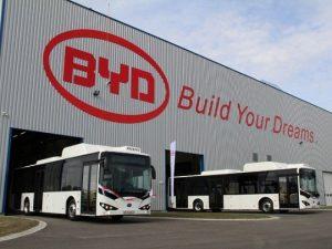 BYD részvény: Komáromi gyár
